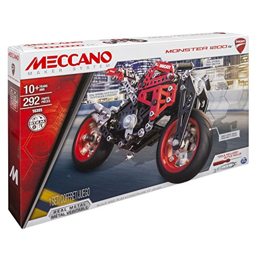 Meccano - 6027038 - Jeu de Construction - Ducati Monster 1200s