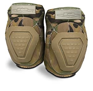 Damascus DNEPM Imperial Neoprene Elbow Pads with Reinforced Non-slip Trion-X Caps, Multi-Cam Camo by Damascus Protective Gear