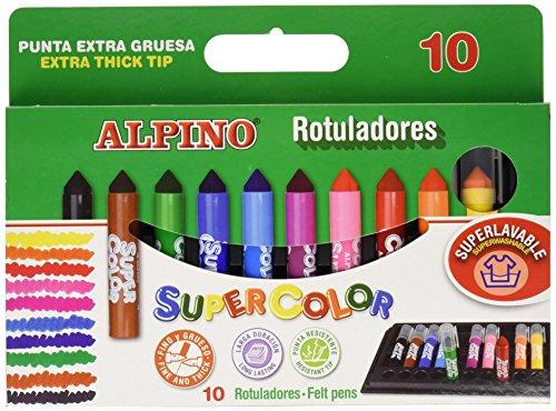Alpino AR000011 – Estuche Supercolor, 10 unidades