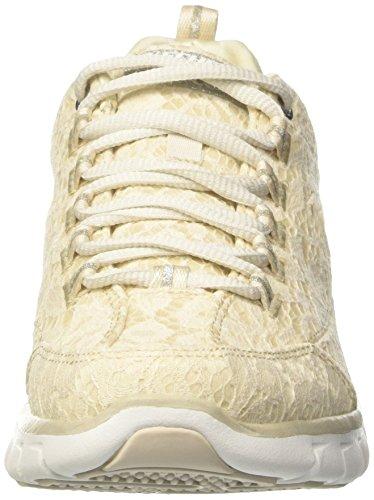 Skechers Damen Sinergia-setosa Sneaker Beige (ntsl)