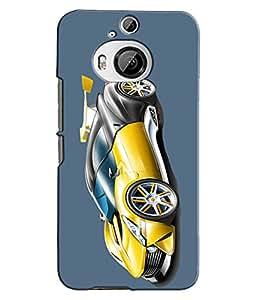 EU4IA - HTC ONE M9 PLUS - PRINTED BACK COVER CASE - MATTE FINISH