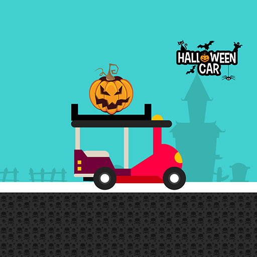 Halloween Pumpkin Car Racing Game Free