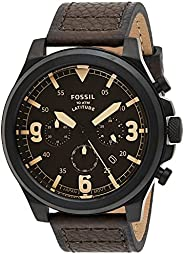Fossil MENS LATITUDE STAINLESS STEEL WATCH FS5751, BLACK