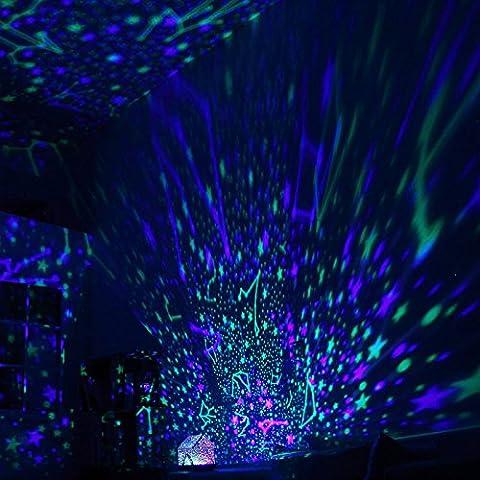NAUY Para tu comodidad la luz de la lámpara DIY Audio Proyección Casa Cielo Constelación LED de luz de la