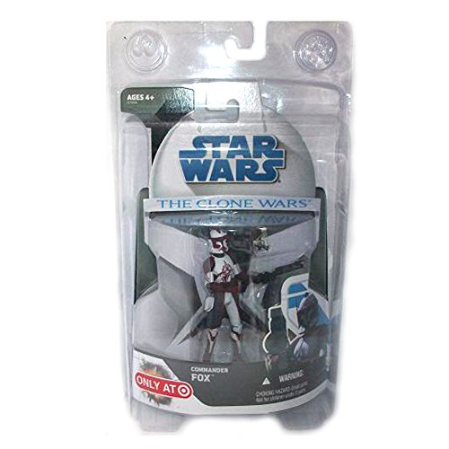 Star Wars - COMMANDER FOX - The Clone Wars - Hasbro