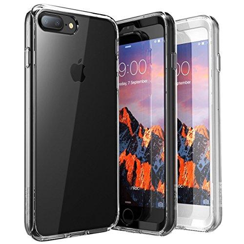 iPhone 7 Plus Hülle, iPhone 8 Plus Hülle, Supcase [Ares] Bumper Hülle Transparent Outdoor Schutzhülle Stoßfest Case Cover mit eingebautem Displayschutz für Apple iPhone 7 Plus / iPhone 8 Plus