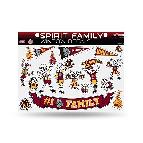 Rico Minnesota Bulldogs 669355 Aufkleber für Familie und Haustiere, offizielles NCAA, 21,6 x 27,9 cm