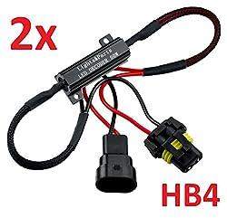 L & P Car Design L&P B541 2 Stück HB4 9006 CanBus Plug&Play Lastwiderstand Widerstand für LED SMD Lampen ohne Fehlermeldung