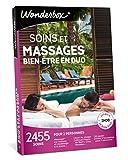 Wonderbox - Coffret cadeau couple - SOINS ET MASSAGES BIEN-ÊTRE EN DUO- 2455 soins, massages sur mesure, modelages, hammam, soins du visage pour 2 personnes