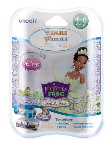 VTech V. Smile Motion Active Learning System Prinzessin und der Frosch Software