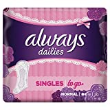 Always Singles To Go Slipeinlagen, 10er Pack (10 x 20 Stück)