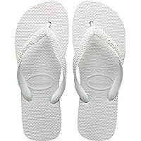 Havaianas Men's Top Sandal Flip Flop, 41/42 BR (9/10 M US), White