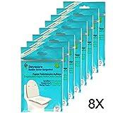 Toilet Seat Cover - Servizi igienici Protezione sedile - Travel Pack copriwater monouso di carta, materassi, sedili WC riposa 80 da St. Steyocare
