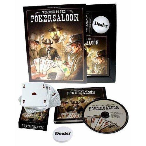 Welcome to the Pokersaloon (inkl. Pokerkarten & Dealer Button) (Hank Williams-boxset)