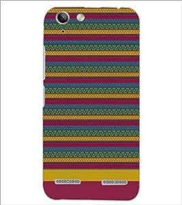 PrintDhaba Tribal pattern D-1886 Back Case Cover for LENOVO VIBE K5 PLUS (Multi-Coloured)