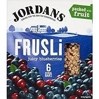Jordans Bares Frusli Blueberry Ráfaga (6X30g) (Paquete ...