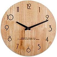 TOYM- Giapponese - Stile minimalista in legno Casa moderna Orologio