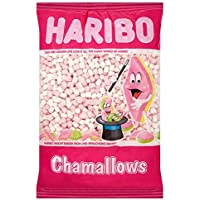 Haribo Chamallows Mini Pink & White Retro Dulces para niños - 2 x 1 kg