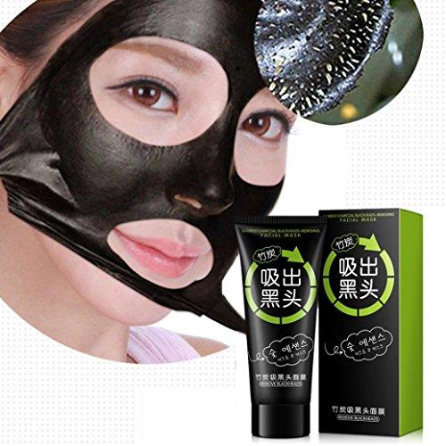 Kontrolle Aufhellung (2017 NEU Mitesser Maske , Bovake NEUE Black Mud Deep Cleansing Pilaten Blackhead Remover Reinigende Peel Face Maske)