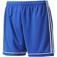 adidas S99152 Pantalón Corto, Mujer, Azul (Azufue/Blanco), XLL