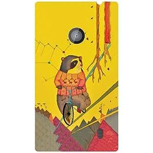 Nokia Lumia 520 Back Cover Designer Hard Case Printed Cover