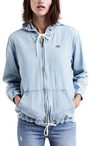 Jeans-jacke-frauen Levis (Levi`s Damen Jeans Jacke Hoody 523440000 gym class hero XS)