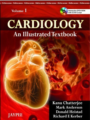 cardiology-an-illustrated-textbook-1-har-dvdr-edition-by-kanu-chatterjee-2012-hardcover