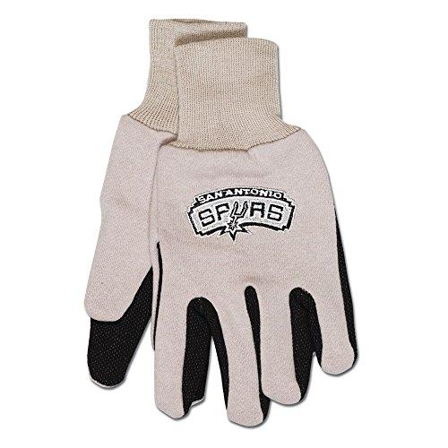 NBA guantes de dos tonos, gris