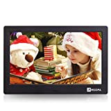 Arzopa 10-inch IPS Screen Widescreen Digital Photo Frame HD 16:9 Picture Album Support
