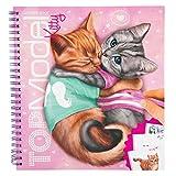 Depesche, Libro da colorare, Create Your Kitty, Top Model 5361 [Lingua Italiana Non Garantita]