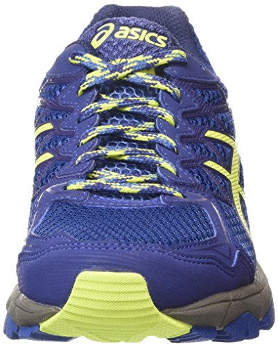 Asics Gel-fujitrabuco 4 Damen Laufschuhe Blau (slate Blue/sharp Green/carbon 4285)