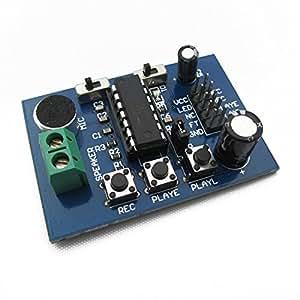 Registrazione vocale del modulo scheda ISD1820 modulo sulla riproduzione di amplificazione del suono (amplificatore)
