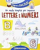 eBook Gratis da Scaricare Un modo semplice per imparare lettere e numeri (PDF,EPUB,MOBI) Online Italiano