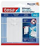 tesa® Klebenagel für Fliesen und Metall, spurlos wiederablösbar (4 kg / 3er Pack = 6 Nägel)