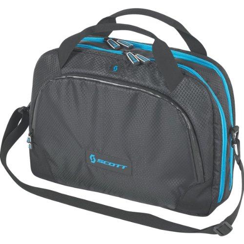 Scott Laptop Messenger Borsa per computer portatile, colore: nero Black