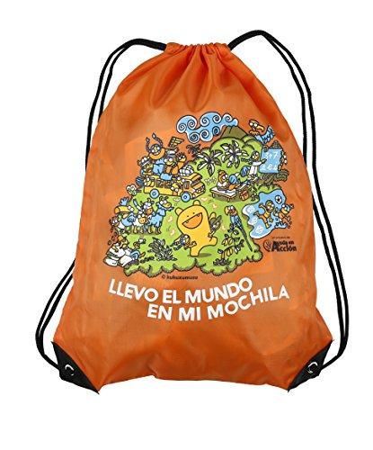 Imagen de  saco o de cuerdas naranja