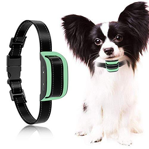 MASBRILL Collare Anti Corteccia Nessuna Scossa elettrica per Cani di Taglia Piccola o Media (5-55 lb),Cane da addestramento con Suoni e Vibrazioni,nessun Danno al Cane