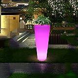 XINYE LED Stehleuchte Outdoor Wasserdicht Kunststoff 16 Farbe Ändern Dekoration Blumentopf