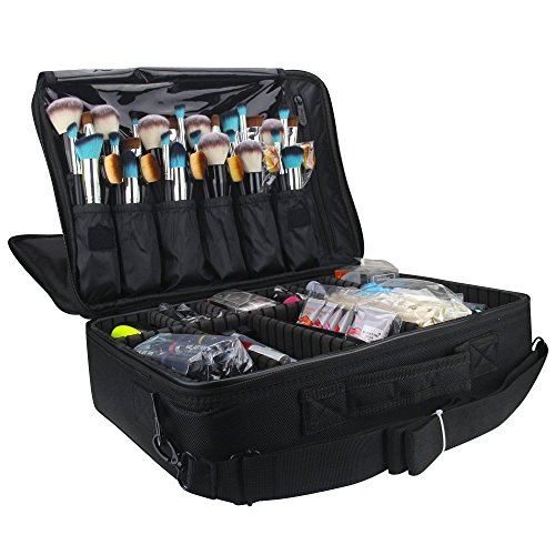 Travelmall Makeup Train Case 3 L...