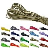 Roban Fashion 10 m elastische Gummikordel 3mm Gummischnur Elastische Kordel Hutgummi Auswahll aus 32 Farben