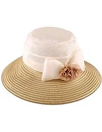 Cappello da sole da donna Cappello - Cappello estivo da donna con visiera  parasole pieghevole da bc38a7443e81