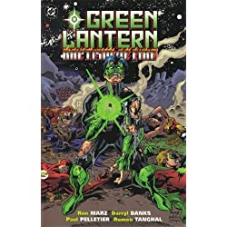Green Lantern: Baptism of Fire by Ron Marz (1999-03-10) - Ingles