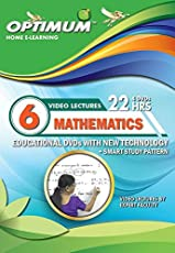 Optimum Educator Educational DVD's Std 6 MH Board Mathematics- Digital Guide Perfect Gift for School Students – Easy Video Learning- Fun with Maths