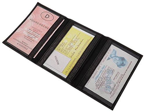 0f1fb39c47 Porta carte d'identità e carte di credito pelle di bufalo MJ-Design-