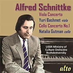 Schnittke: Bratschenkonzertcellokonzert Nr. 1