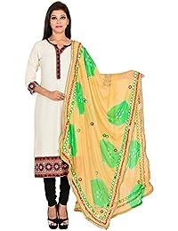 Ooltah Chashma Designer Party Wear Chiffon Dupatta With Lace Work For Women/ Girls - B01M0WDV2O