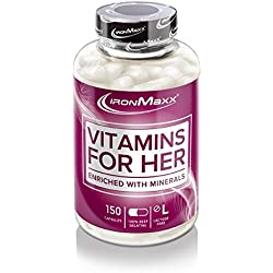IronMaxx - Vitamins for Her 100 Kapseln Dose (2er Pack)