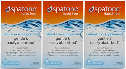 42 Sachets (Nelsons Spatone 100% Natural Iron Supplement--42 Sachets)