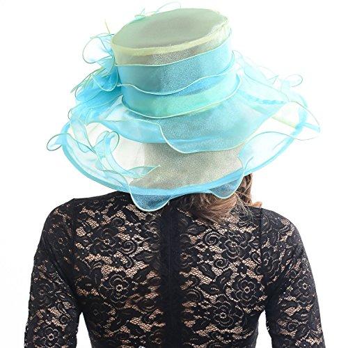 FORBUSITE - Capeline - Femme Bleu bleu Taille Unique vert clair