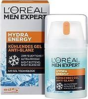 L'Oréal Men Expert Hydra Energy anti-glans, niet-vettige hydraterende verzorging met mat effect en verkoelende werking...